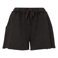L'urv Womens Luna Shorts Black XS, Black, rebel_hi-res