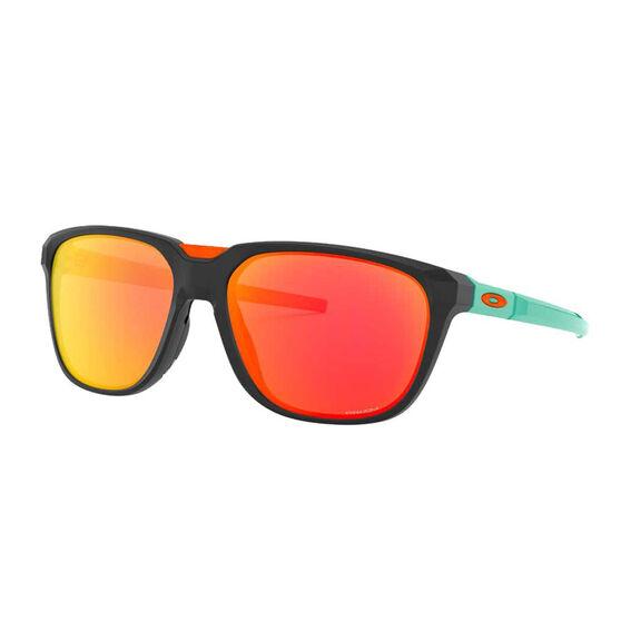 Oakley Anorak Sunglasses Matte Black/Prizm Ruby, Matte Black/Prizm Ruby, rebel_hi-res