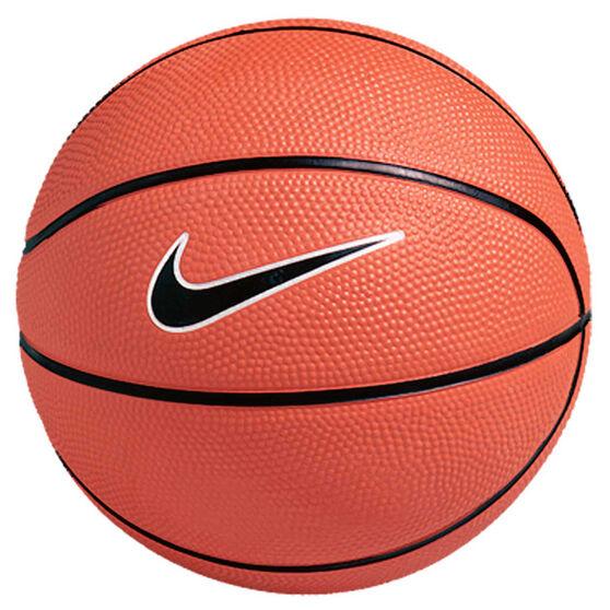 Nike Swoosh Mini Basketball Black / Orange 3, , rebel_hi-res