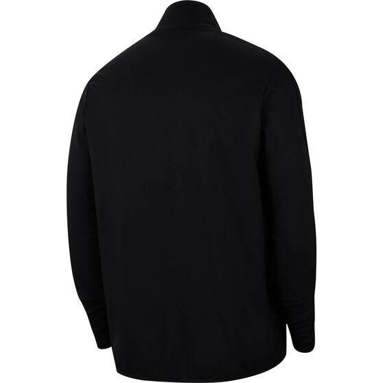 Nike Mens Dry Woven Training Jacket, Black, rebel_hi-res