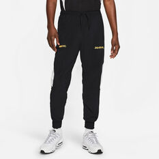 Nike F.C. Mens Dri-FIT Woven Football Pants Black S, Black, rebel_hi-res