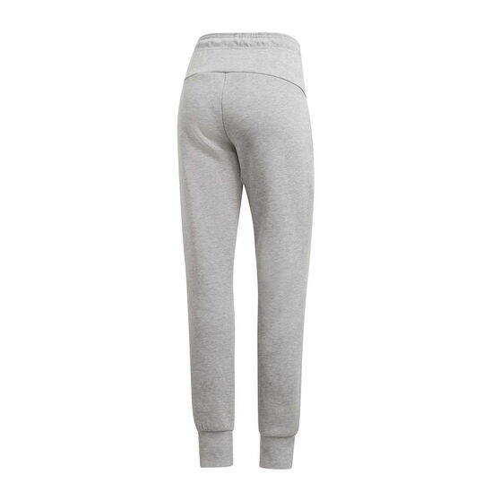 adidas Womens Must Haves Double Knit Track Pants, Grey, rebel_hi-res