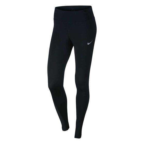 87026962aca94 Nike Womens Power Running Tights Black XS, Black, rebel_hi-res