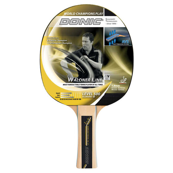 Donic Schildkrot Waldner 500 Table Tennis Bat, , rebel_hi-res