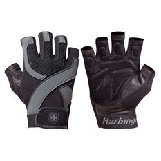 Harbinger Training Grip Wrist Wrap Gloves, , rebel_hi-res