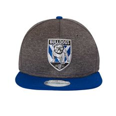 Canterbury Bulldogs 2018 New Era 9Fifty Shadow Cap Grey OSFA, , rebel_hi-res