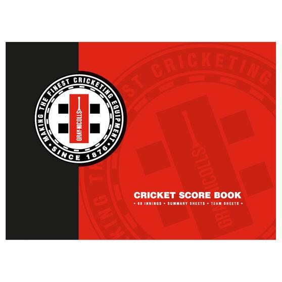Gray Nicolls Cricket Scorebook 60 Innings, , rebel_hi-res