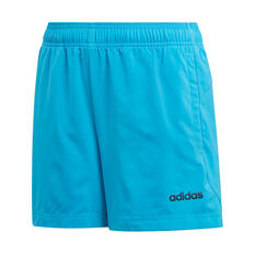 adidas Boys Essential Chelsea Shorts Blue / Navy 6, Blue / Navy, rebel_hi-res