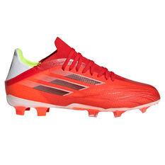 adidas X Speedflow .1 Kids Football Boots Red US 11, Red, rebel_hi-res