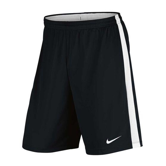 Nike Mens Dry Academy Football Shorts, Black / White, rebel_hi-res