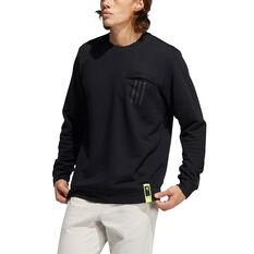 Adidas Mens PG Lite Sweatshirt Black S, Black, rebel_hi-res