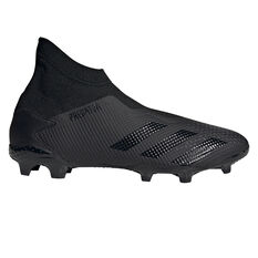 adidas Predator 20.3 Laceless Football Boots, Black, rebel_hi-res