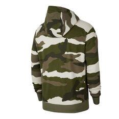 Nike Sportswear Mens Club French Terry Hoodie, Camo, rebel_hi-res