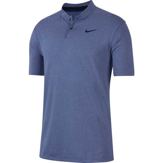 Nike Mens Dri-FIT Vapor Golf Polo, Blue, rebel_hi-res