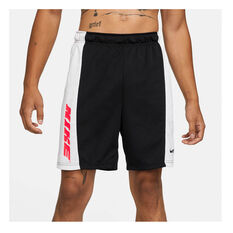 Nike Mens Dri-FIT Training Shorts White S, , rebel_hi-res