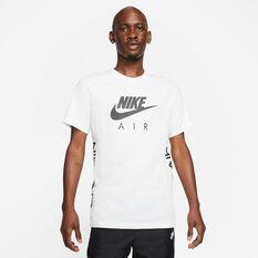 Nike Mens Air HBR Tee White XS, White, rebel_hi-res
