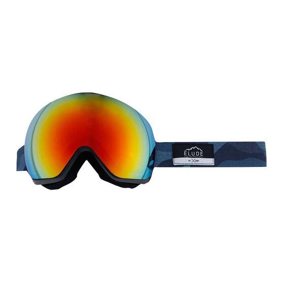 Elude Mens Camo Ski Goggles, , rebel_hi-res