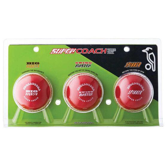 Kookaburra Super Coach 3 Ball Pack, , rebel_hi-res