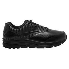 Brooks Addiction Walker 2 D Womens Walking Shoes Black US 6, Black, rebel_hi-res