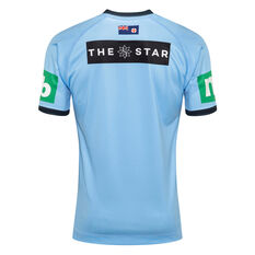 NSW Blues State of Origin 2020 Mens Home Jersey Blue S, Blue, rebel_hi-res