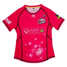 Sydney Sixers 2019 WBBL Womens Jersey Magenta S, Magenta, rebel_hi-res