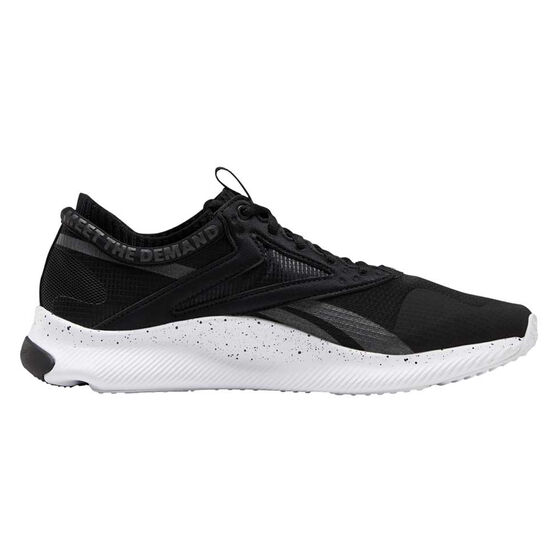 Reebok HIIT Mens Training Shoes, Black / White, rebel_hi-res