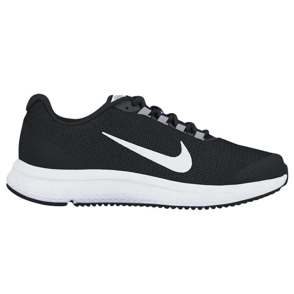 51067432f289 Nike Run All Day Womens Running Shoes Black   White US 7