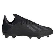 adidas X 19.3 Kids Football Boots Black / Silver US 11, Black / Silver, rebel_hi-res