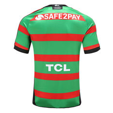 South Sydney Rabbitohs 2020 Mens Home Jersey Green / Red S, Green / Red, rebel_hi-res
