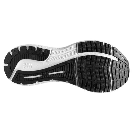 Brooks Glycerin GTS 19 Mens Running Shoes, Black/White, rebel_hi-res