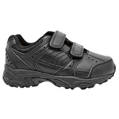 Sfida Dominator Junior Cross Training Shoes Black US 11, Black, rebel_hi-res