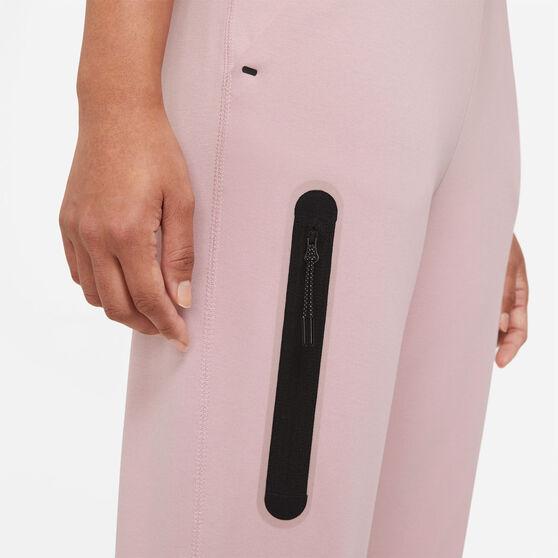 Nike Womens Sportswear Tech Fleece Pants, Pink, rebel_hi-res
