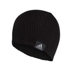 new concept 1c572 fcf0d adidas Mens Performance OSFA Beanie Black   Grey, Black   Grey, rebel hi-res