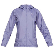 47dc915e404 Under Armour Womens UA Forefront Jacket Purple XS