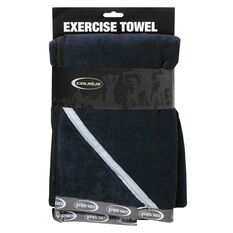 Celsius Exercise Towel Black S, Black, rebel_hi-res
