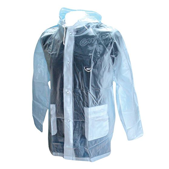 Team All Clear Wet Weather Jacket, Clear, rebel_hi-res