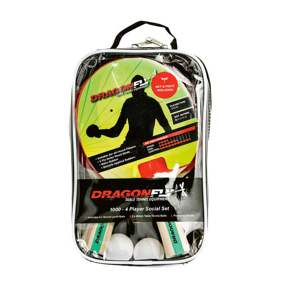 Dragonfly 1000 4 Player Table Tennis Set, , rebel_hi-res