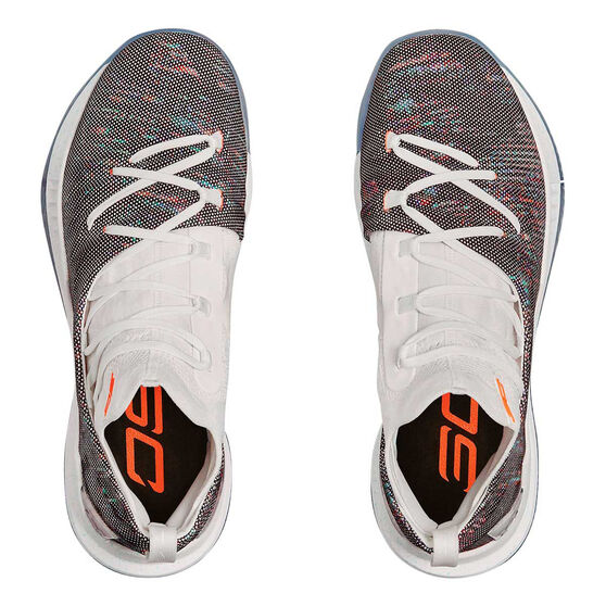 60df73358199 Under Armour Curry 5 Mens Basketball Shoes White   Coral US 10 ...