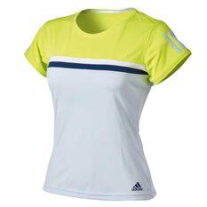 adidas Womens Club Tennis Tee Blue XS, Blue, rebel_hi-res