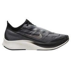 Nike Zoom Fly 3 Womens Running Shoes, Grey / Silver, rebel_hi-res