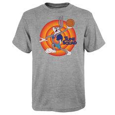 Space Jam: A New Legacy Bugs Bunny Name & Number Kids Tee Grey S, Grey, rebel_hi-res