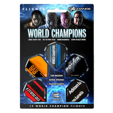 Target World Champions Dart Flight Set, , rebel_hi-res