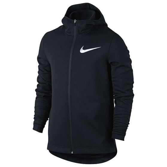 3f5244d90027 Nike Mens Dry Showtime Basketball Hoodie Black S Adults