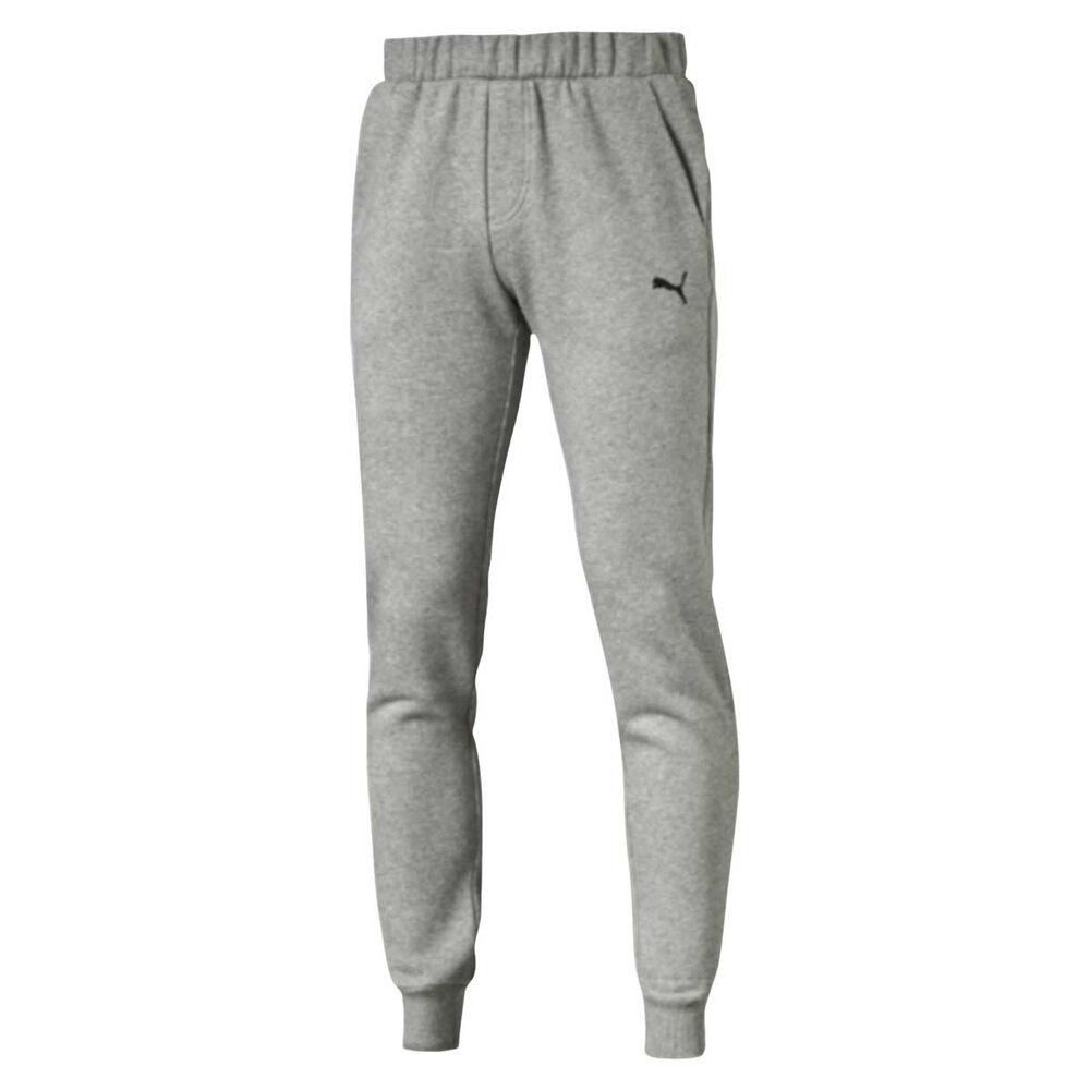 77d71ffa2db9 Puma Mens Essential Sweat Pants Grey M Adult