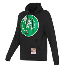 Boston Celtics Mens Hoodie Black S, Black, rebel_hi-res