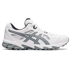 Asics GEL Trigger 12 Mens Walking Shoes White/Grey US 7, White/Grey, rebel_hi-res