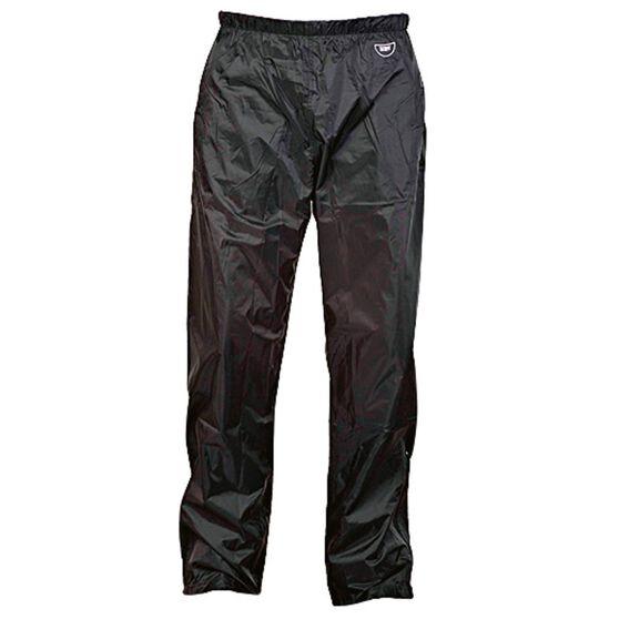 Team Stolite Waterproof Rain Trousers, Black, rebel_hi-res