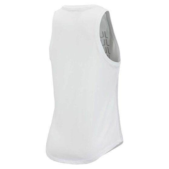 Nike Womens Sportswear Just Do It Tank White XS, White, rebel_hi-res