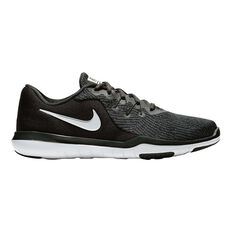 Nike Flex Supreme TR 6 Womens Training Shoes Black / White US 6, Black / White, rebel_hi-res