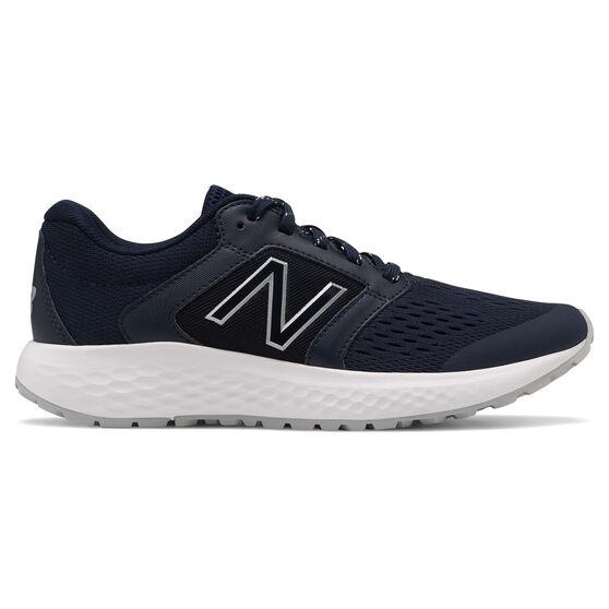 New Balance 520v6 Womens Running Shoes, Navy/White, rebel_hi-res